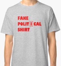 Fake political shirt Classic T-Shirt