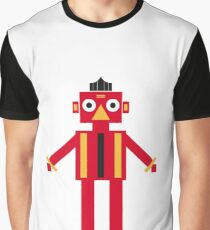 cartoon game robot Graphic T-Shirt