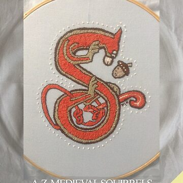 Squirrel Embroidery Book 2018 - Coming soon! by Donnahuntriss