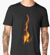 Abstract Flame Men's Premium T-Shirt