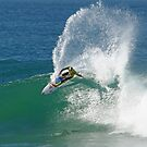 Mick Fanning wins heat at 2009 Rip Curl Pro (2) by Andy Berry