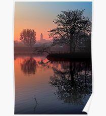 Misty Dawn Sydenham Poster