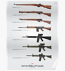 Service Rifles of Canada Poster