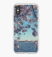 Portrait of Jefferson Memorial in Spring iPhone Case
