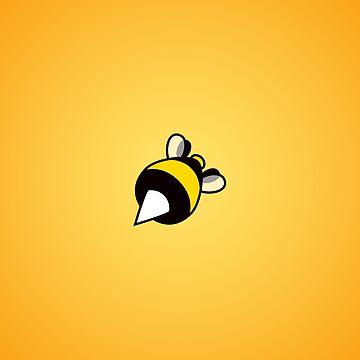 Stinging Bee Orange by azzza