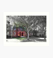 Elizabeth Hall - Stetson University, Deland, Florida    Art Print