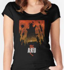 Akaiju Women's Fitted Scoop T-Shirt