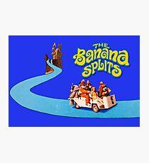 The Banana Splits Live Action Golf Cart (Vintage Retro) Photographic Print