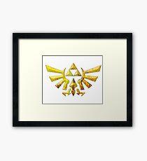 Royal Crest Framed Print