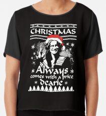 Weihnachten kommt immer mit einem Preis, Dearie. Chiffontop