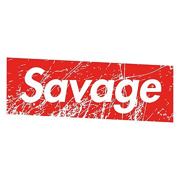 Savage Red Square Grunge Background 2 by poisondesign