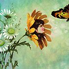 HER BUTTERFLY BUDDY by Tammera