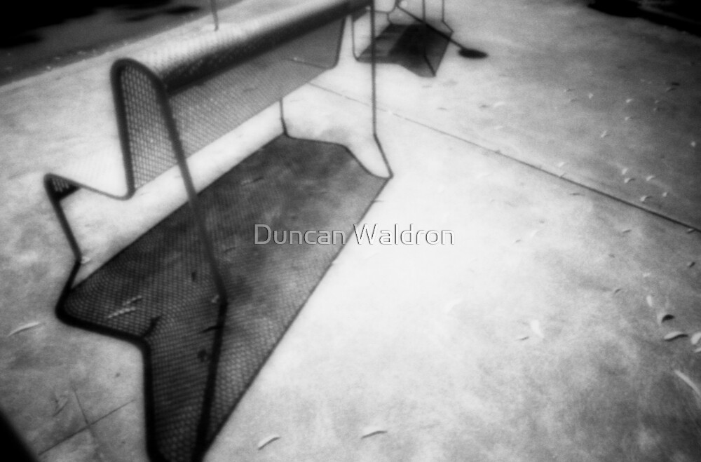 Seat & shadow by Duncan Waldron