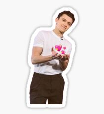 Tom holland offering his love Sticker