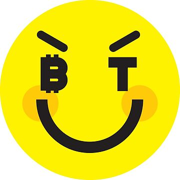 Bitcoin Cheeky Smiley by Bitcoin-Smiley