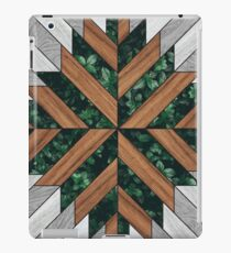 Wood and Nature Tribal Pattern iPad Case/Skin