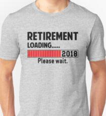 Ruhestand laden 2018 Slim Fit T-Shirt