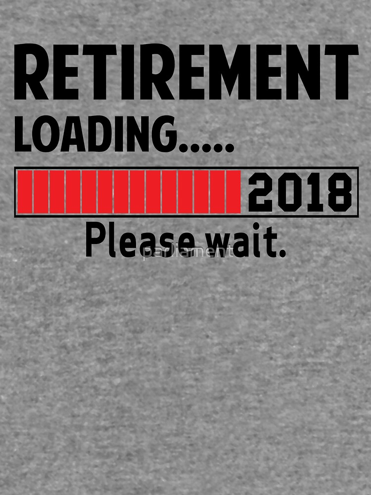 Retirement Loading 2018 by parliament