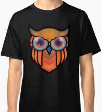 cool owls and cool design print  Classic T-Shirt