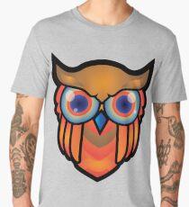 cool owls and cool design print  Men's Premium T-Shirt