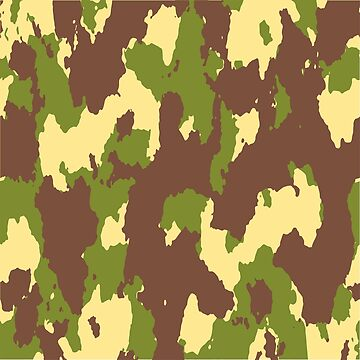 Army Camouflage Pattern – Mountain Brownish by poisondesign