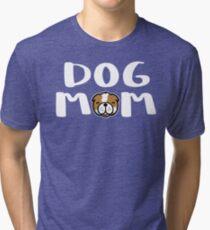 Super Cute Dog Mom Tri-blend T-Shirt