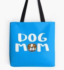 Super Cute Dog Mom Tote Bag