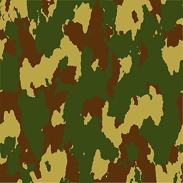 Army Camouflage Pattern – Mountain Brownish 2 by poisondesign