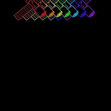 Rainbow Satellite by GradientPowell