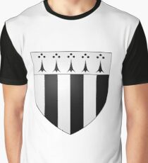 Coat of Arms of Rennes, France Graphic T-Shirt