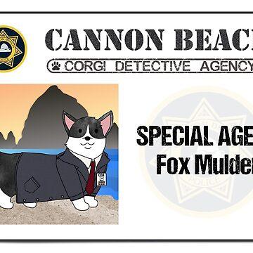 CBCDA - Fox Mulder ID by PortlandCorgi