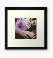 Harry Styles guitar Framed Print