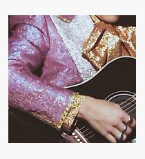 Harry Styles guitar Photographic Print