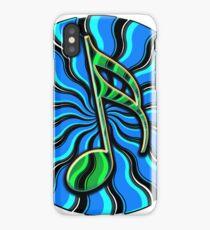 Springtime Semiquaver - 16th Note Music Symbol iPhone Case/Skin