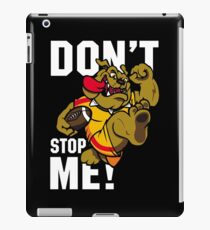 Don't Stop Me! iPad Case/Skin
