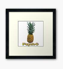 Psych O Framed Print
