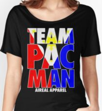 TEAM PACMAN PACQUIAO BY AIREAL APPAREL Women's Relaxed Fit T-Shirt