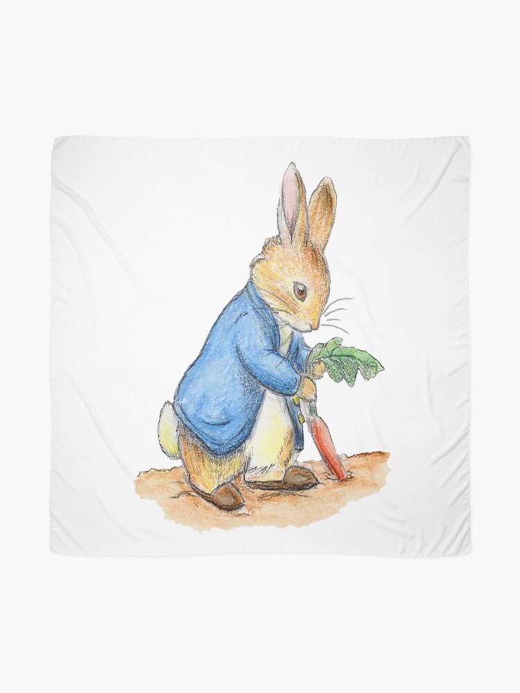 Alternative Ansicht von Kindergartenfiguren, Peter Rabbit, Beatrix Potter. Tuch