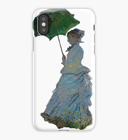 Mme. Monet iPhone Case