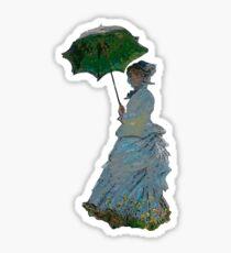 Mme. Monet Sticker