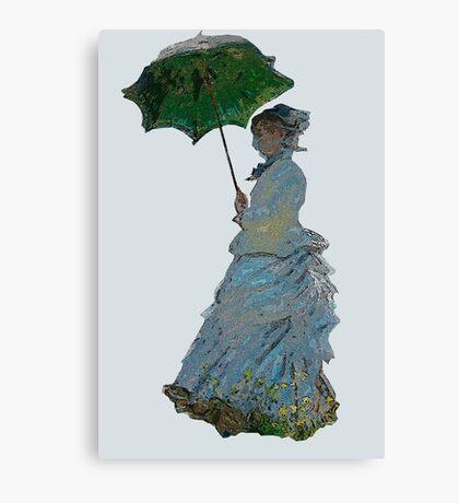 Mme. Monet Canvas Print