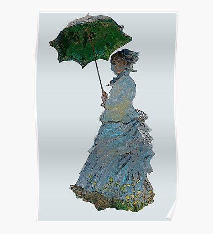 Mme. Monet Poster