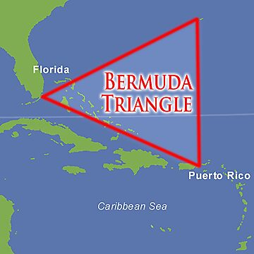 Bermuda Triangle, also known as the Devil's Triangle by TOMSREDBUBBLE
