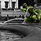 Serpentine in trafalga square by drbeaven