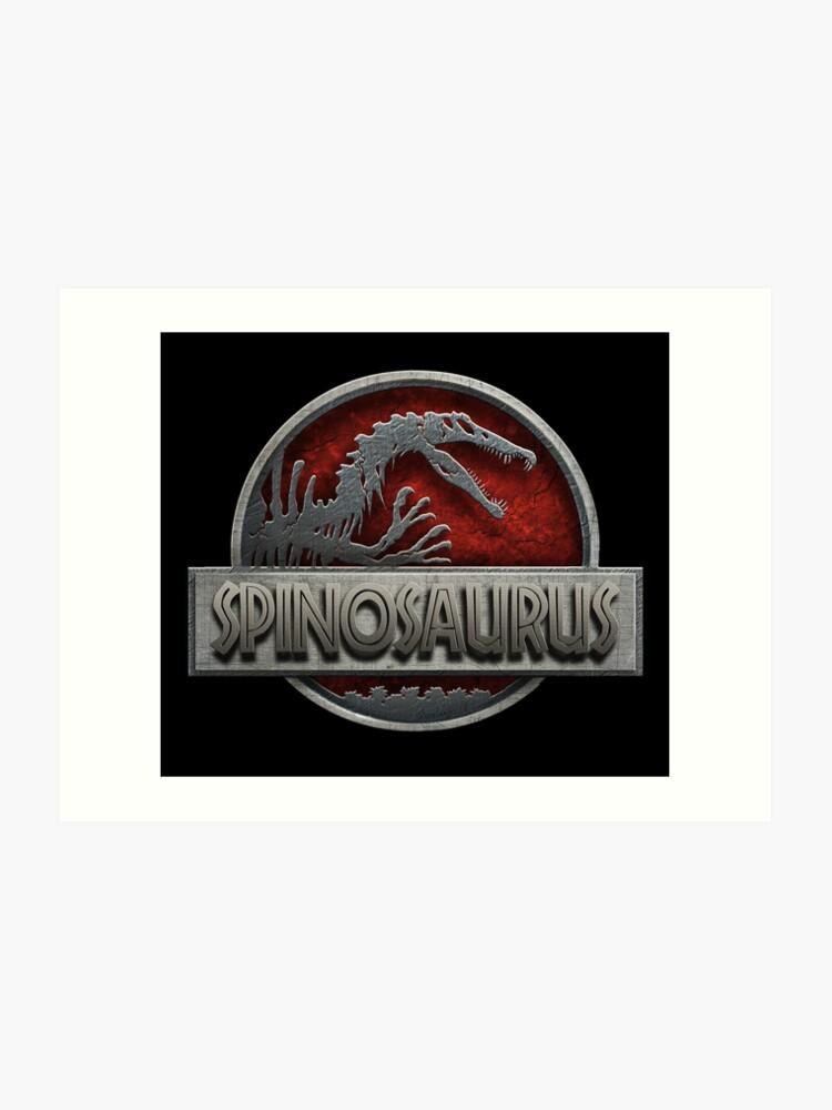 99018692503 Spinosaurus (accurate) Logo Jurassic Park inspired