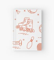 Equipment for sports activities for children. Hardcover Journal