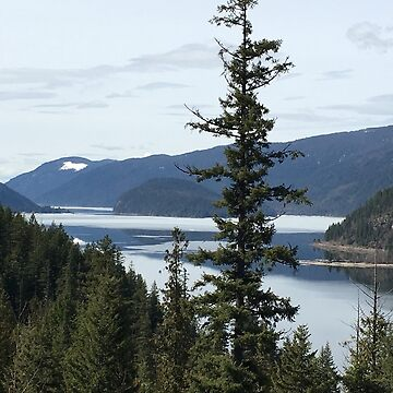 Spring Vista of Mara Lake by CaptureRadiance