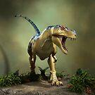 Dinosaur Tyrannosaurus by Vac1