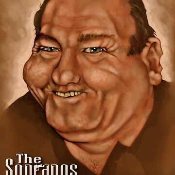 Tony Soprano by JRGibson
