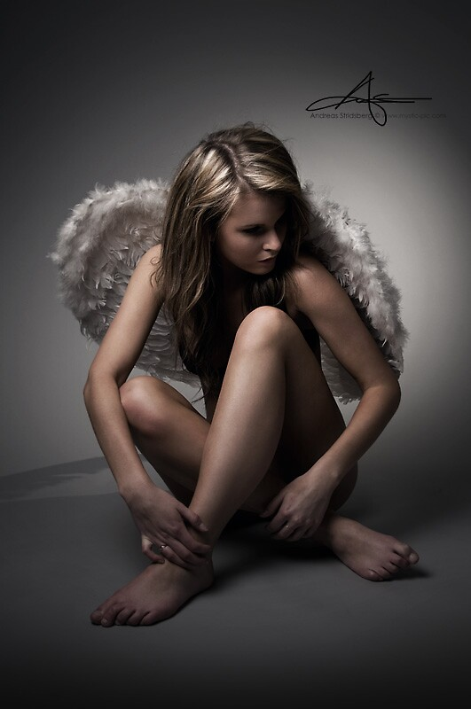 Angel Face by Andreas Stridsberg